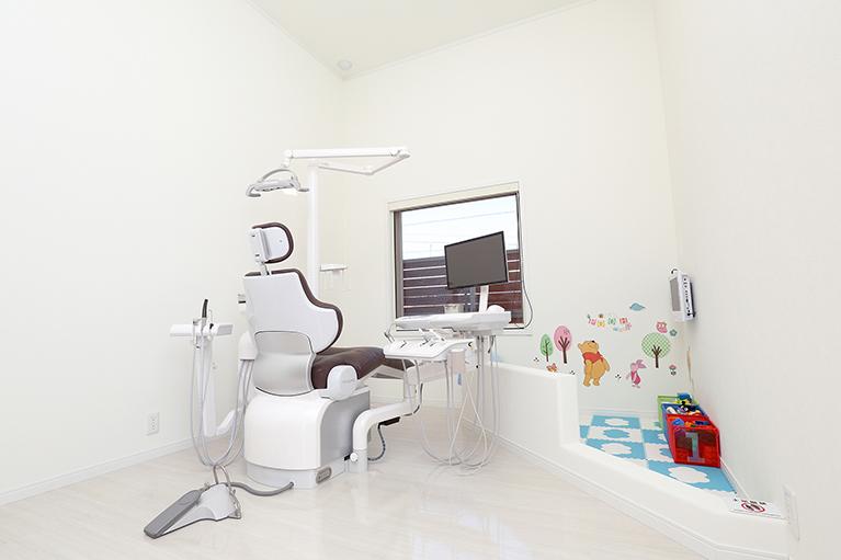 お子さんと一緒に歯の治療をしましょう